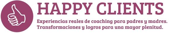 Happy Clients. Participantes en programas de coaching para padres y madres.